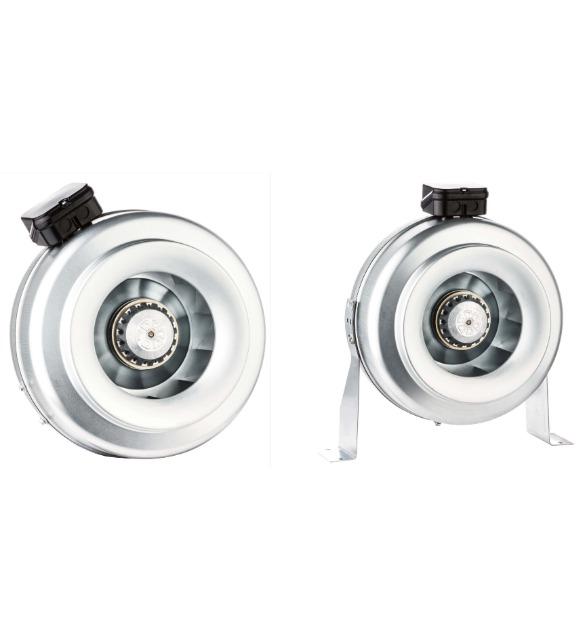 Radialventilator Rohrventilator Rohrlüfter Metall Abluft TURBINE ø250mm 1150m³/h