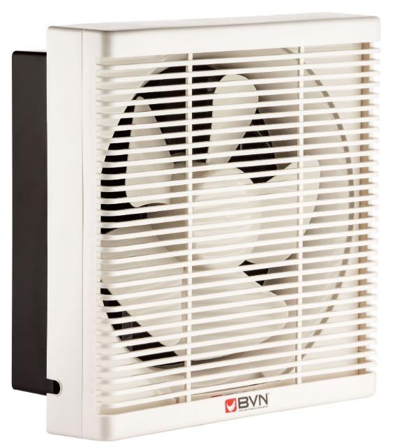 Ventilator Lüfter Be-Abluft Klappe Wand Fenster Absaugung Axial ø300mm 1100m³/h