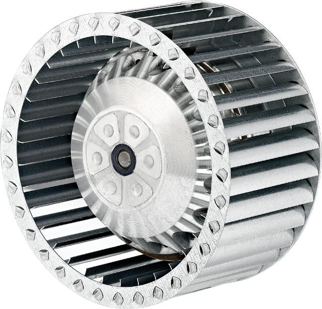 Radialventilator AC Zentrifugalventilator vorwärts gekrümmt 485m³/h 140-60
