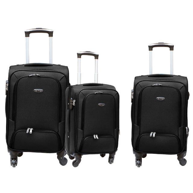 ff44e929446fd Reisekoffer Set Kofferset Reise Koffer Set 3 tlg mit 360 ° Rollen und  Schloss - Verkaufsschlager