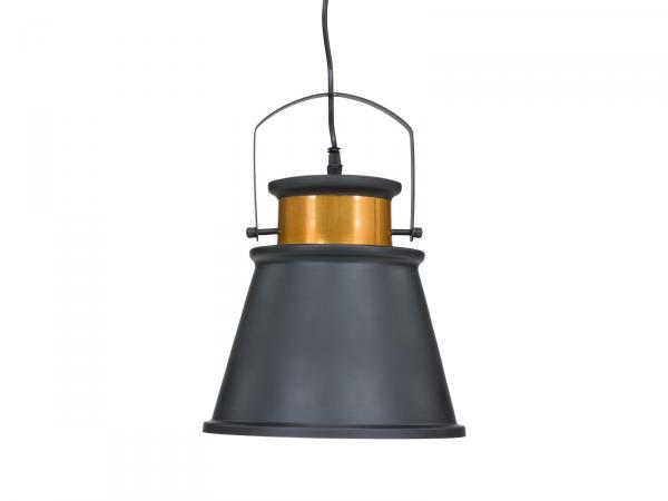 Hängeleuchte Nika II D25x32cm Metall schwarz