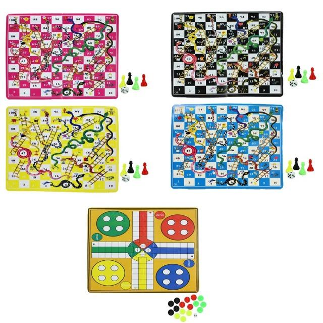 27-80553, Gesellschaftsspiele Spiel Schlangen- und Ludo Spiel