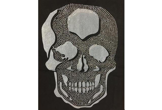 Kinder Jungen T-Shirt Totenkopf Skull Strass Glitzer 4-14 Jahre Shirt Shirts Kurzarm Kindershirts Oberteil - 6,90 Euro