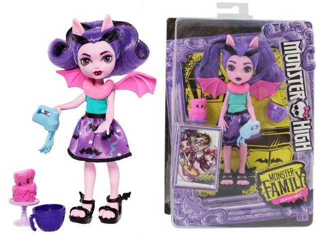 27 48449 Mattel Monster High Puppe Fangelica Family Mit Zubehor