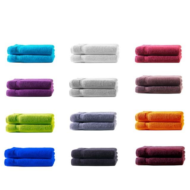 Gästetücher Gr. 30x50 cm in ca. 500 g/m², 100% Baumwolle, **Premium Qualität**