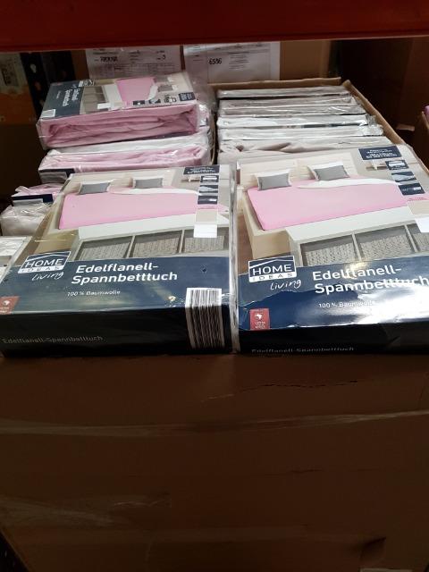 Textilien Mixpalette inkl. Packliste ca. 22.000 Teile - 1 LKW