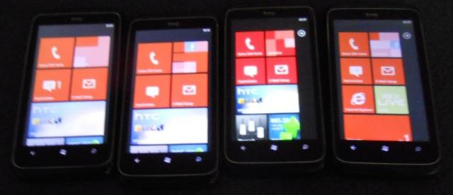 16 Stück HTC 7 Trophy - Schwarz 8 GB 5 Megapixel Restposten, B- Ware