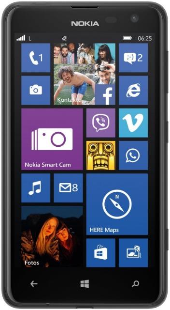 Nokia Lumia 625 Single SIM Smartphone Touch-Display, 8 GB Restposten
