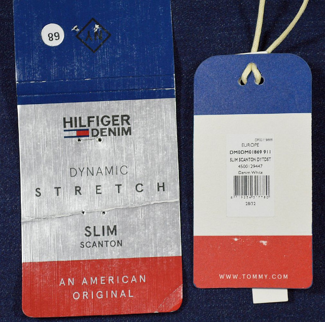 Tommy Hilfiger Denim Slim Scanton DYTDST Dynamic Stretch W28L32 Jeans Hose 5-111