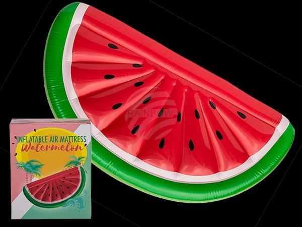 Aufblasbare Luftmatratze, Wassermelone, ca. 180 cm, 180/PAL
