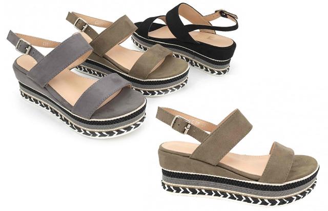 Damen Woman Sommer Trend Sandalette Slipper Schuh Shoes Business Freizeit - 11,90 Euro