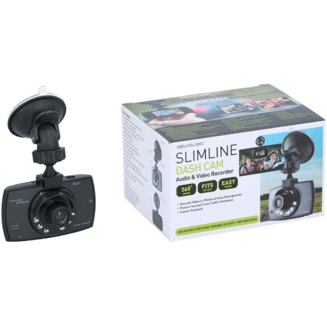 Dashcam Full HD SLIMLINE Audio & Videorecorder für Ihr Auto