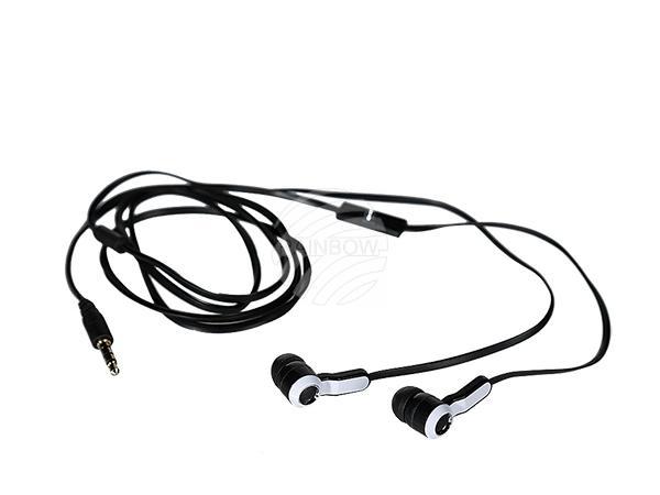 IN EAR-Kopfhörer mit Mikrofon & ca. 1,20 m Kabel, 2-farbig sortiert, in Blisterpackung mit Headercard, 1440/PAL