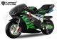 NITRO Motors PS77 Pocketbike 49cc | Easy Start | 6.5 Zoll Pocket Mini Dirt Bike Motorrad