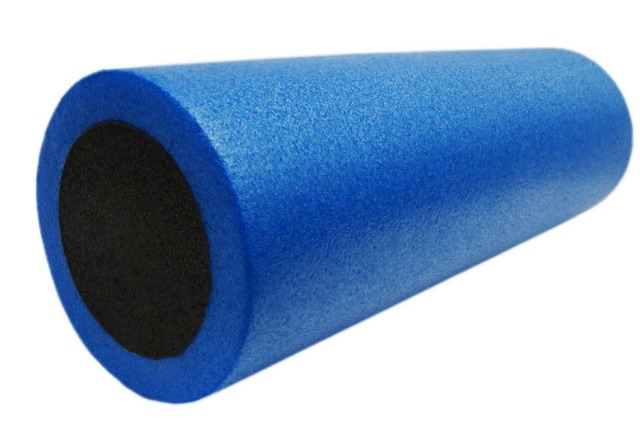 Massagerolle Fitness Faszienrolle Pilates Rolle Yoga 15,5 x 46 cm Fitnessrolle