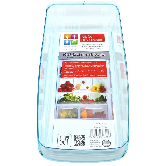 28-777088, Kühlschrankkorb, für eine übersichtliche Aufbewahrung im Kühlschrank oder Küchenschrank