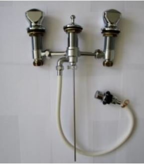 IDEAL STANDARD 3-hole taps
