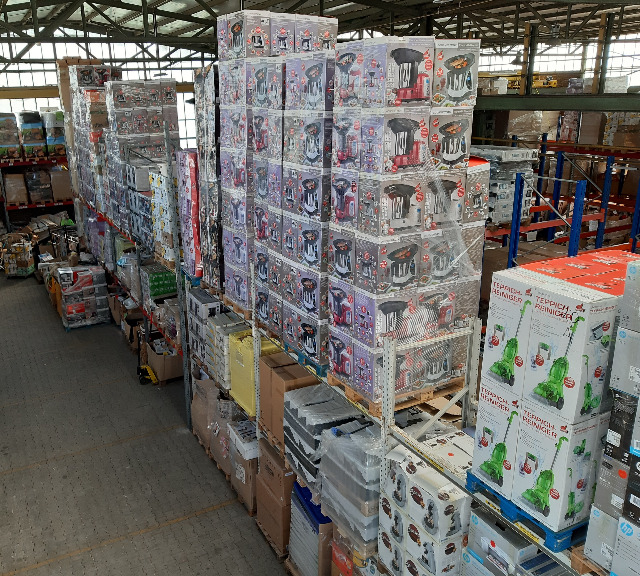 Mixpaletten Container-LKW-Export Elektro Haushaltsgeräte 320,00€