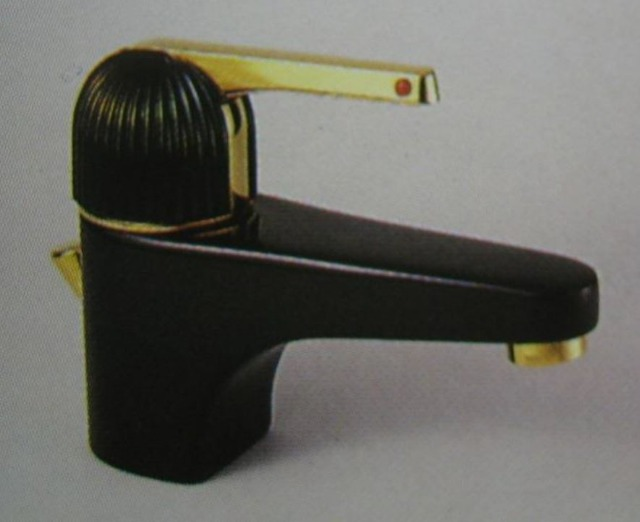 ROKAL HANSA brand washbasin faucets black / gold