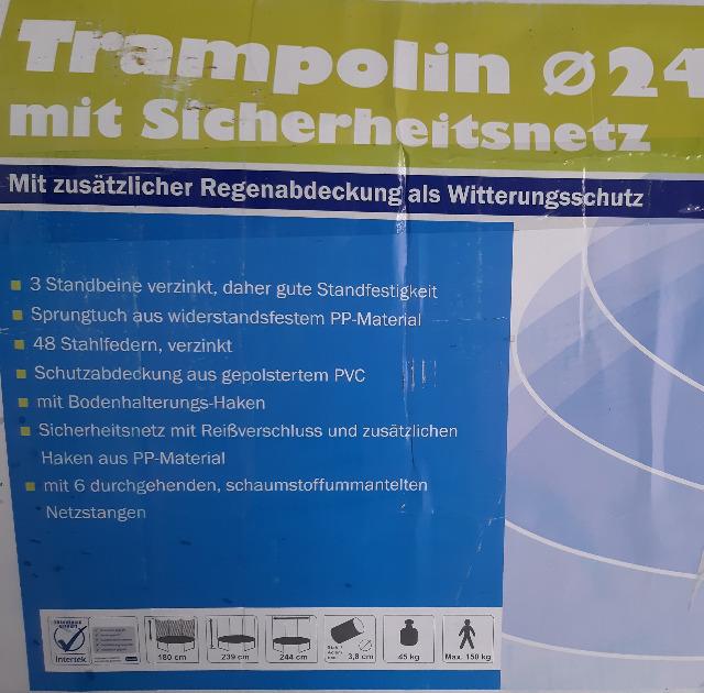 TRAMPOLIN TOPLIT