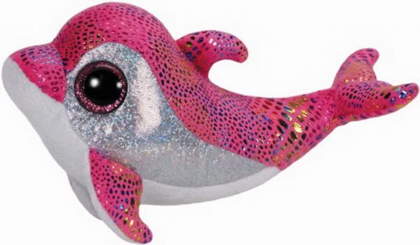 Sparkles - Delfin, pink, ca. 15 cm, 1 Stück
