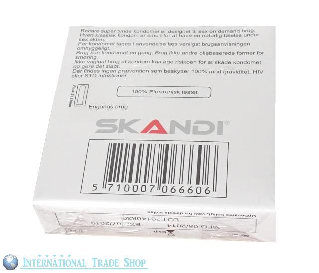 (0,04€/Stück) MEGA SALE 144x RECARE Kondome - Top Qualität aus Dänemark!
