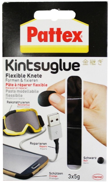12-7154114, Pattex Kintsuglue Reparaturkit, flexible Knet