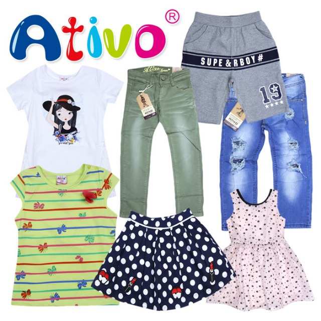ATIVO kids clothes at wholesale price