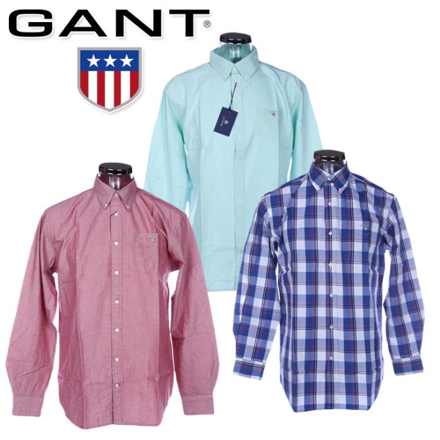 GANT shirts for men at wholesale price