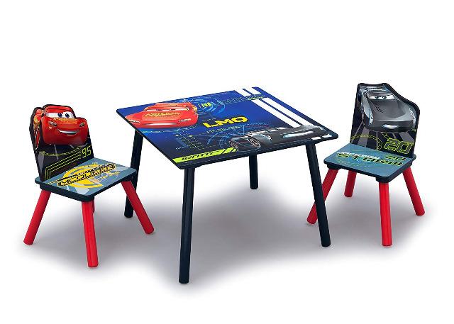 Holz Kindersitzgruppe 3tlg. Disney Cars NEU OVP Tisch Kindertisch 2x Stuhl
