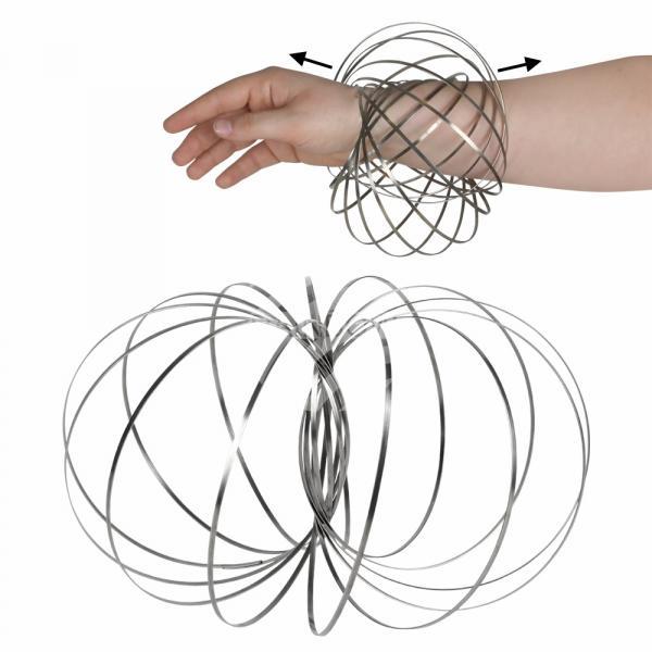 Magic Ring Spirale silber