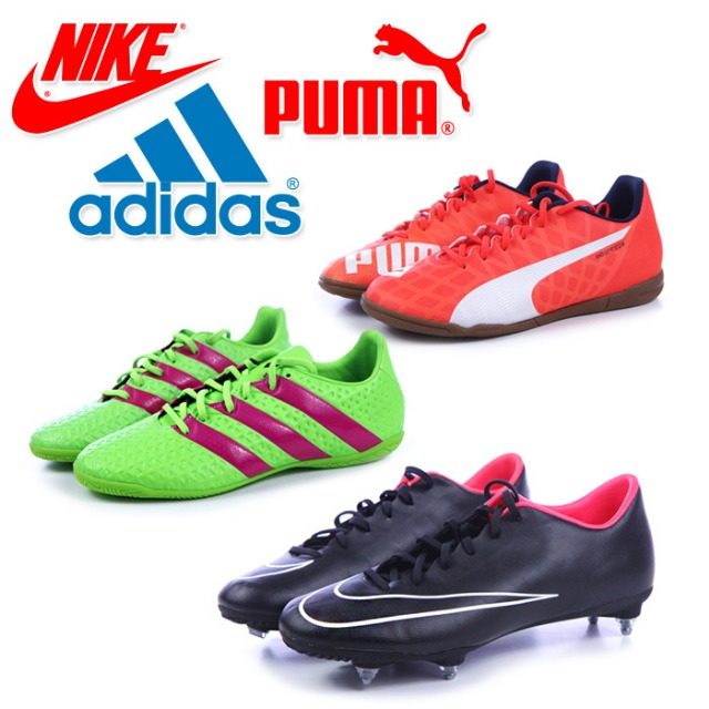 ADIDAS, NIKE, PUMA soccer shoes for men at wholesale price