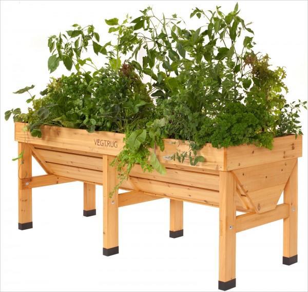 VegTrug Holz - Hochbeet / Pflanzentrog 180 cm