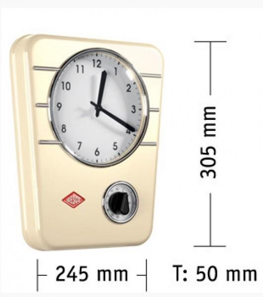 KÜCHENUHR CLASSIC LINE MANDEL - WESCO