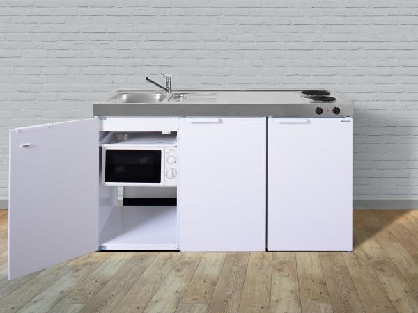 Miniküche Mit Kochfeld Und Kühlschrank : MinikÜche mkm kühlschrank e kochfeld rechts spüle links