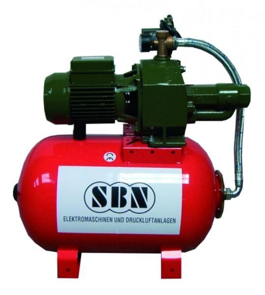 SBN Hauswasserwerk Jett 2000 mit 60 ltr. Kessel