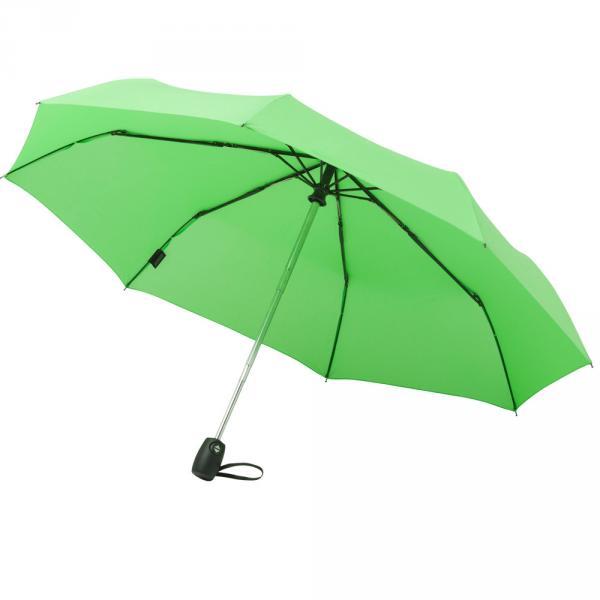 Regenschirm AOC Mini Taschenschirm Schirm Automatik Doppelautomatik Aluminium klein Faltschirm OKTAGON®