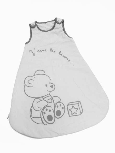 Babyschlafsack 67cm - weiß