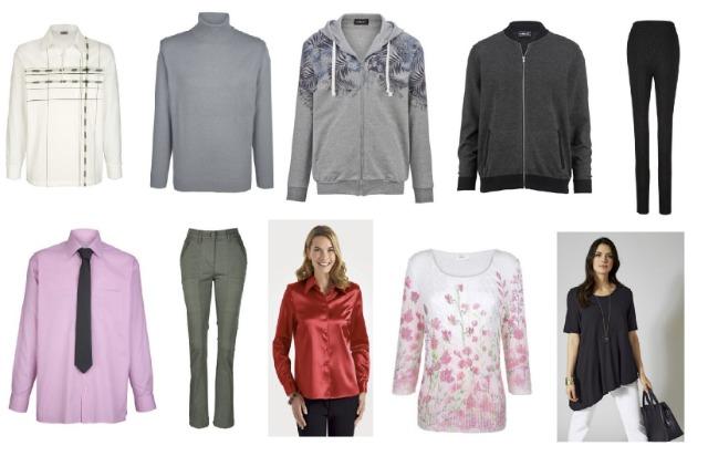 Damen- und Herren Mode in Mix Winter und Sommer Collection