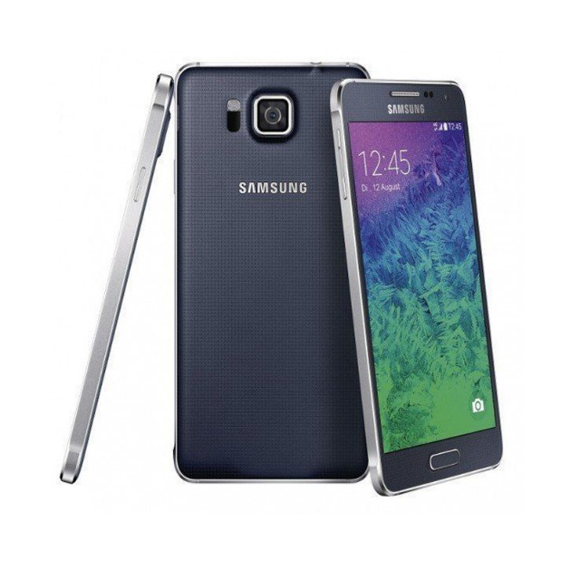 Samsung Galaxy Alpha Smartphone (4,7 Zoll (11,9 cm) Touch-Display, 32 GB Speicher, Android