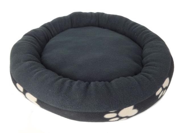 Schwarze Hundekörbe / Tierbetten