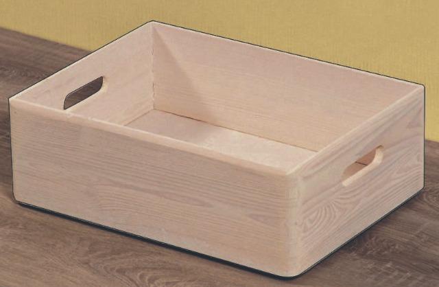 Aufbewahrungsbox weiß gebeizt perfekt für Küche und Haushalt
