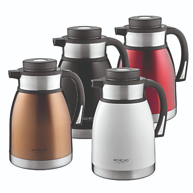 Isolierkanne XXL 2 Liter Isolier Warmhaltekanne  Teekanne Kaffeekanne A Ware