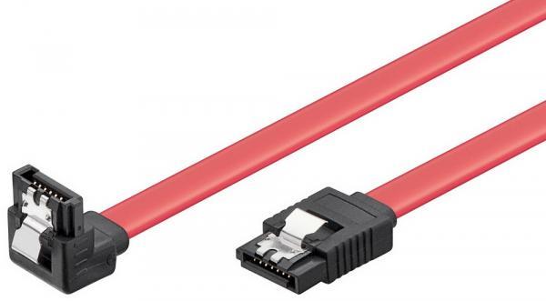 HDD S-ATA Kabel 1.5GBits / 3GBits S-ATA L-Type L-Type 90° 0,5m