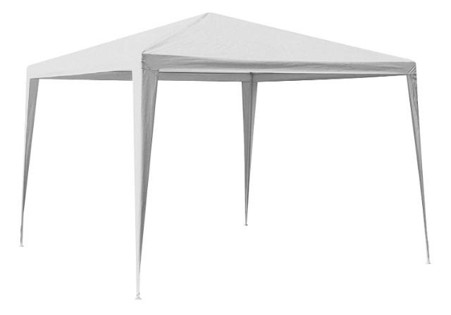 Pavillon 3 x 3 m weiß Sommerknüller