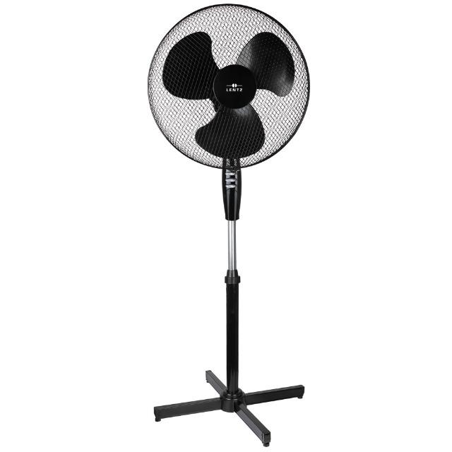 Standventilator Ø 40 cm weiß Stand Ventilator Klimagerät 1 A Ware / Neuware