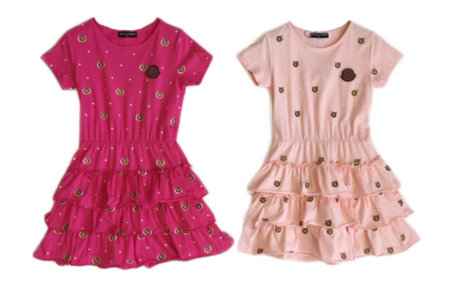 Kinder Mädchen Volant Kleid Muster Longshirt 2-12 Jahre T-Shirt Sweatshirt Oberteil Kindershirt Kurzarm - 5,90 Euro
