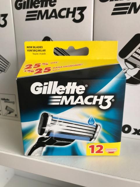 Gillette®™ Mach3 12er - Preis 10,95€