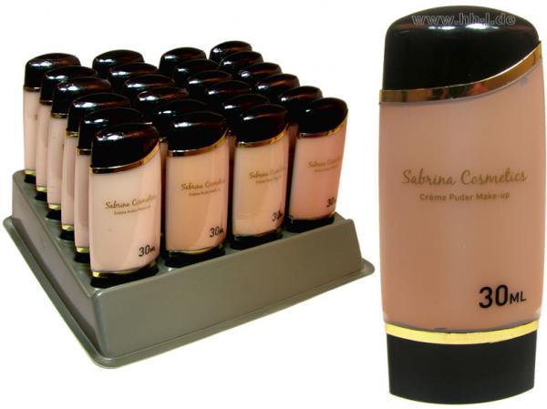 Flüssig Make-up 30 ml im 24er Display, Sabrina Rudnik Cosmetics