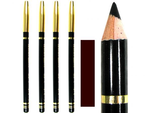 Kajalstifte ''Classic Colours'', Farbe: braun, von Sabrina Rudnik Cosmetics im 12er Headerbeutel